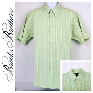 Brooks Brothers Short Sleeve Button Down 346 Large